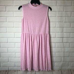 ASOS Light Pink Babydoll Sleeveless Mini Dress